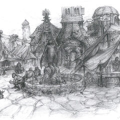 Старый город Меркурии