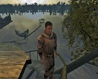 Киан в одежде повстанца