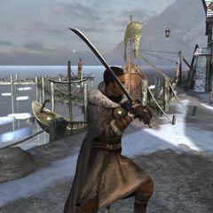 Сражение Киана в переулке