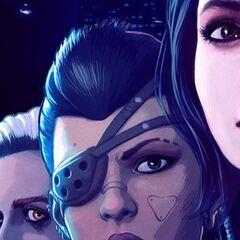 Мира на обложке <i>«Dreamfall Chaptersa»</i>