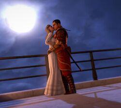 Поцелуй Эмиссара и Вамона