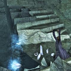 Обвал лестницы на <a href=