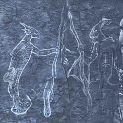 Фреска с маэрумом (слева) и <a href=