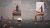 Dreamfall Chaptроers похороны Эйприл Райан. Модели массовки