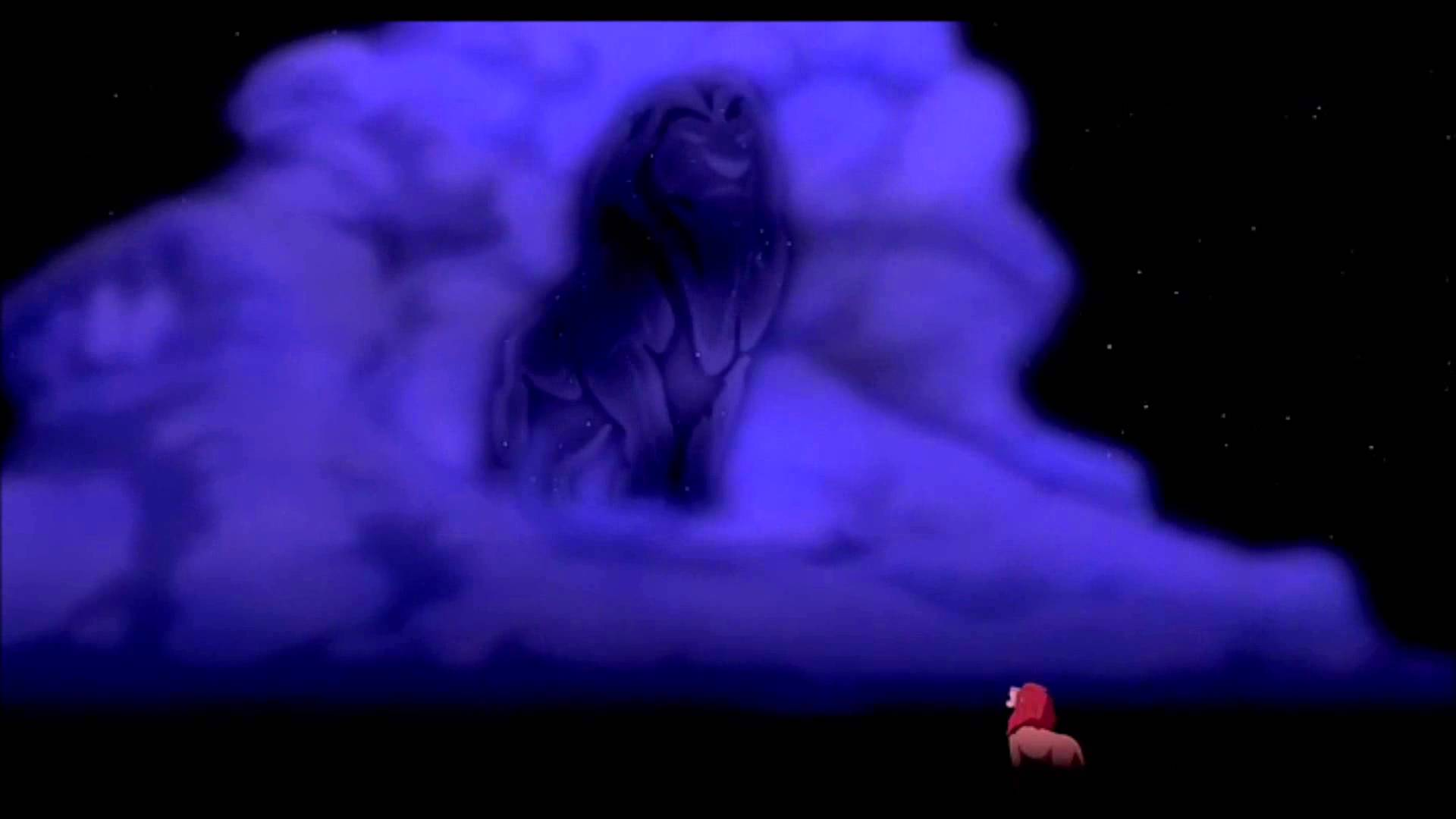 Image result for mufasa speaks to simba