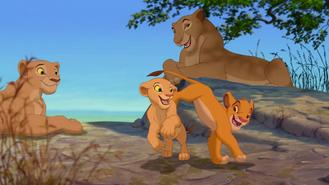 Hurra Nala Simba i matki