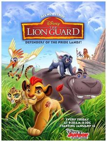 The Lion Guard serial plakat