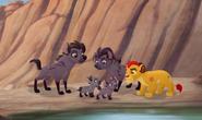 Dobre hieny i Kion