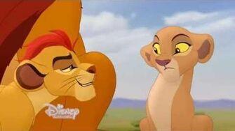 The Lion Guard Klip Poranna lekcja Kiary
