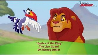 The Lion Guard - Song- Duties of the King - Disney Junior Official