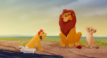 Kiara Kion i Simba