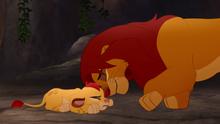 Simba i mały Kion