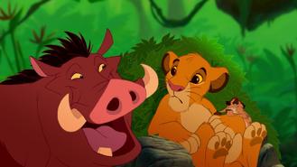 Simba Pumba TImon Hakuna matata