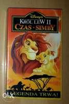Król Lew 2 Czas Simby VHS
