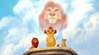 Kion Mufasa Nala Simba