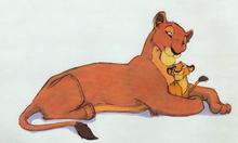Simba i Sarabi concepts art
