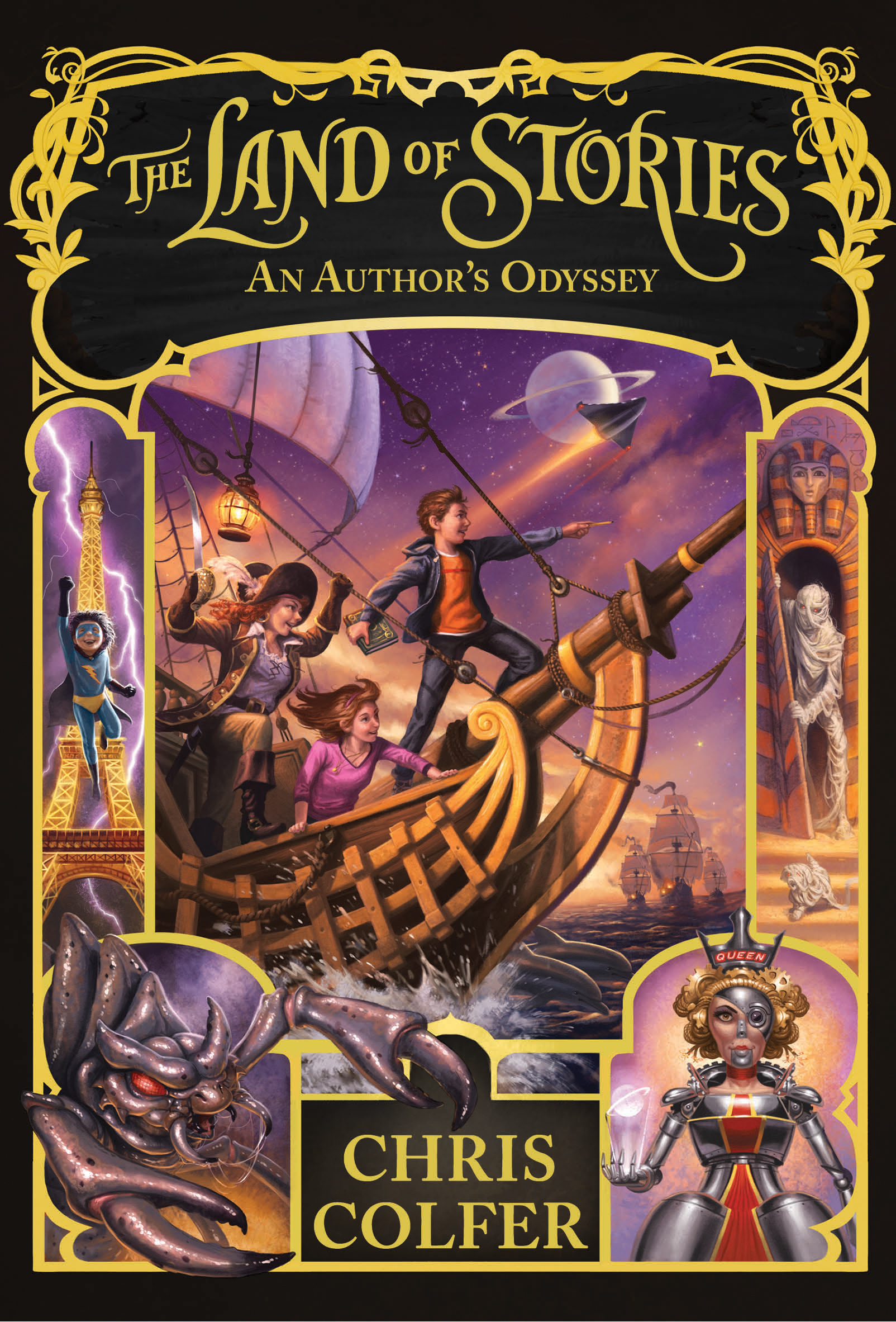 An Authors Odyssey The Land Of Stories Wiki Fandom Powered By Wikia