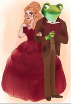 Red and Froggy Fan-art