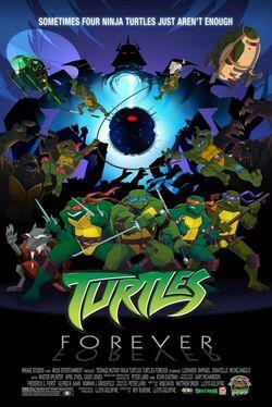 Turtles forever-plakat