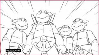 Teenage Mutant Ninja Turtles (Nick Series) 1987 Crossover Sneak Peak