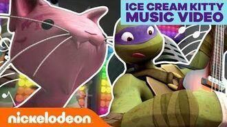 Ice Cream Kitty Official Music Video! 🐢 TMNT MusicMonday