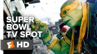 Teenage Mutant Ninja Turtles Out of the Shadows Super Bowl Spot (2016) - Megan Fox Movie HD