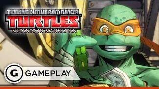 Bebop Boss Battle Gameplay - Teenage Mutant Ninja Turtles Mutants in Manhattan