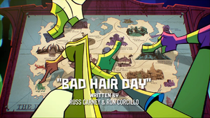 Bad hair day titlecard