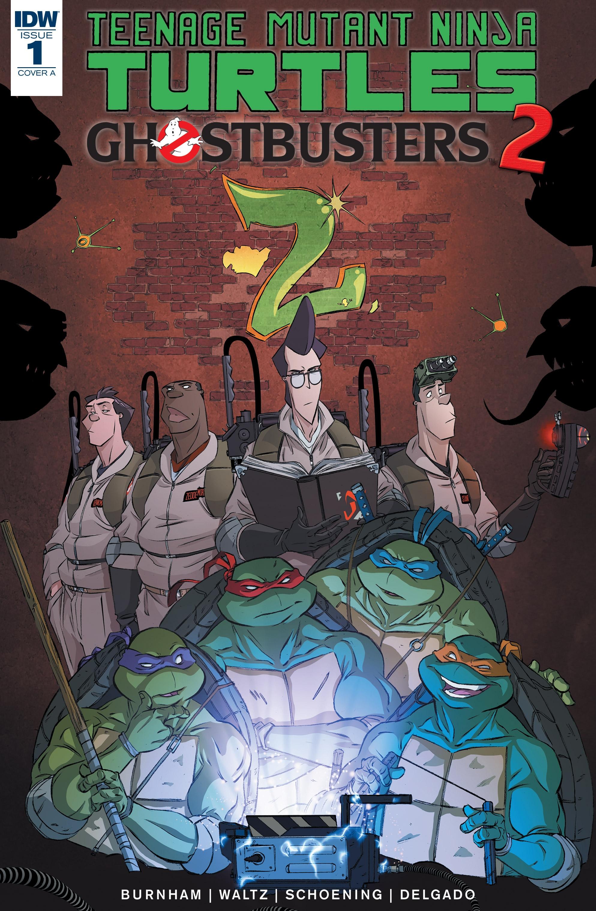 Teenage Mutant Ninja Turtlesghostbusters 2 Tmntpedia Fandom