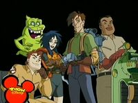 Extreme Ghostbusters cast