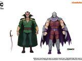 Ra's al Ghul & Shredder (2019 action figure set)