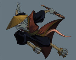 TMNT Ninja Tribunal Splinter by E Mann