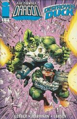 The Savage Dragon - Destroyer Duck issue 1