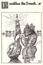 Excalibur the Sword, Howard Pyle 1902