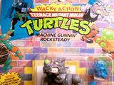 Machine Gunnin' Rocksteady (1991 action figure)