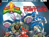 Mighty Morphin Power Rangers/Teenage Mutant Ninja Turtles issue 5