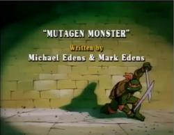 Mutagen Monster Title Card