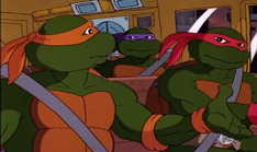 Mobster from dimension x 41 - michelangelo