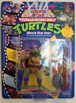 Movie Star Don 1991 Action Figure Tmntpedia Fandom