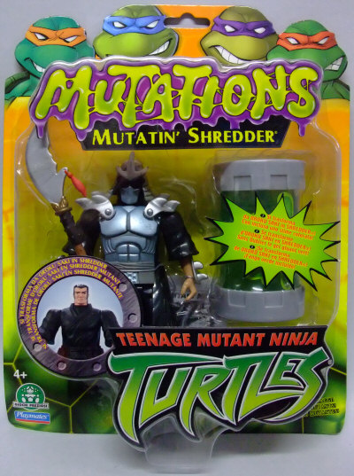 Teenage Mutant Ninja Turtles 2003 Toys : Mutatin shredder action figure tmntpedia