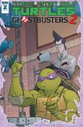 TMNT Ghostbusters 2 2 cover