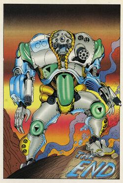 Baxter Stockman (Mirage) from TMNT Vol 2 3