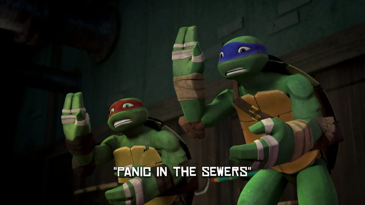 Panic In The Sewers Tmntpedia Fandom