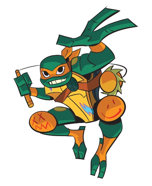 Michelangelo Rise of the TMNT