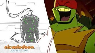"""Bug Busters"" Animatic 1 Rise of the TMNT Nick Animation"