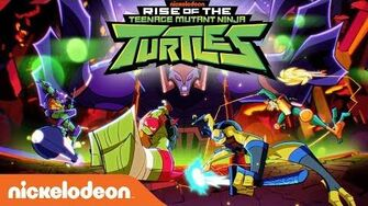 'Rise of the Teenage Mutant Ninja Turtles' Official NEW SERIES Theme Song Nick-0