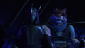 222-Shredder et Tiger Claw