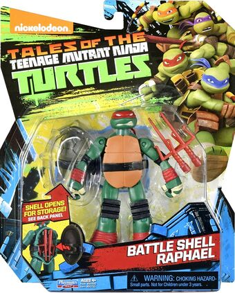 Battle Shell Raphael 2017 Action Figure Tmntpedia Fandom