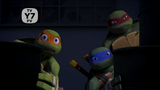 Mikey, Leo and Raph