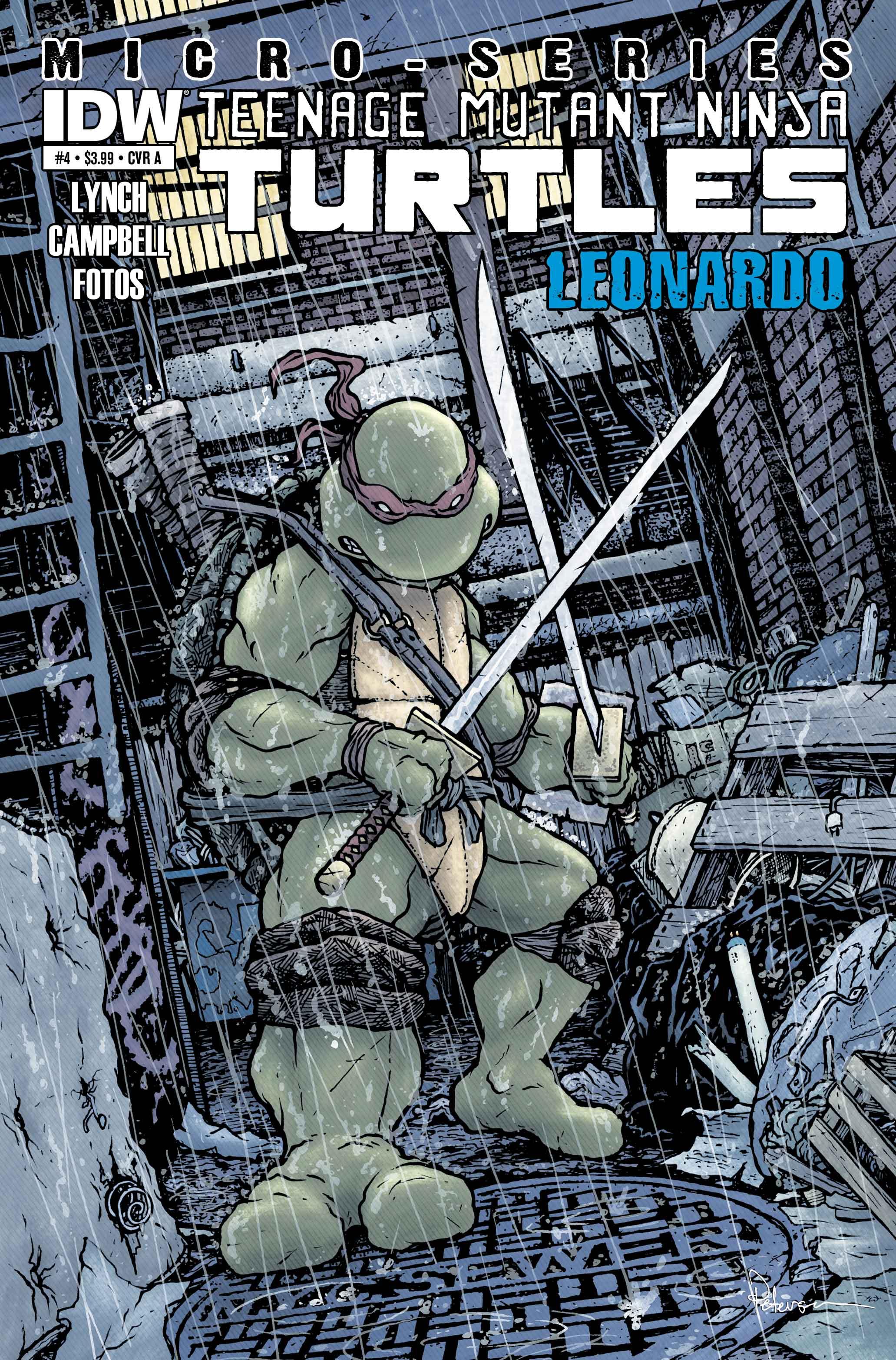 IDW Teenage Mutant Ninja Turtles Micro-Series #1 Raphael Comic Book